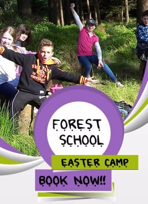 Summer Camp Forest School Easter 2017