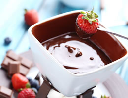 Hen Party Wicklow Chocolate Fondue